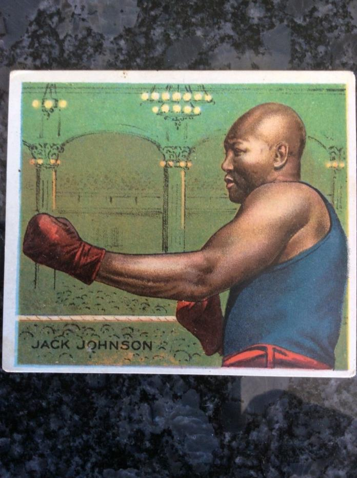 1910 MECCA JACK JOHNSON VERY NICE !!!!