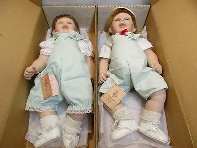 2 Terri DeHetre Legacy Dolls Sonny & Honey w Tags & Boxes 20