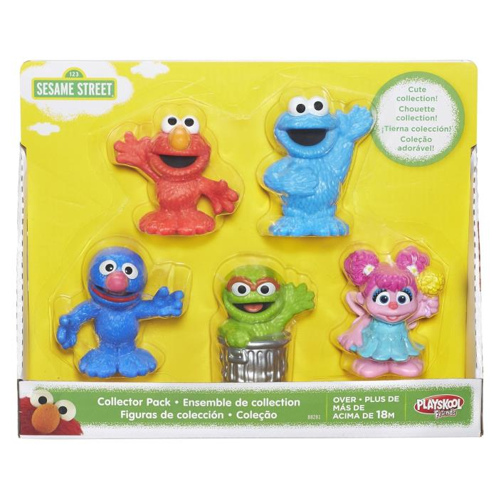 Playskool Sesame Street Collector 5pc Toy Set For Kids