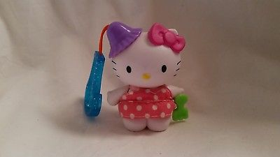 Hello Kitty Sanrio McDonalds Happy Meal Toy 2000 Pink Polka Dot Shovel Clip