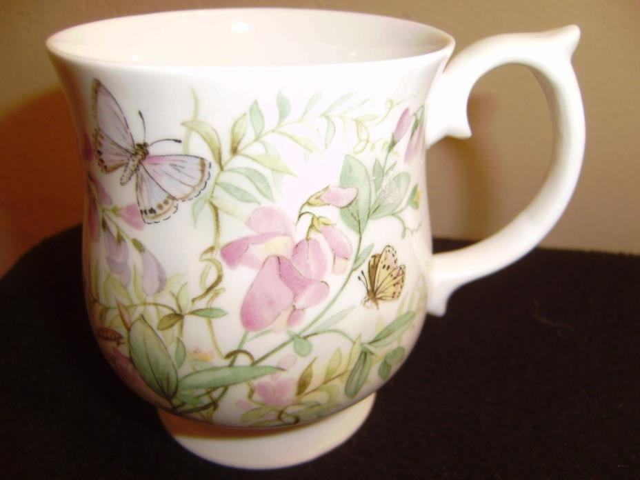 STAFFORDSHIRE Elizabethan Sweet Pea Mug