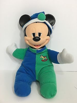 Disney Baby Mickey Mouse Mattel Pajamas & Night Cap Outfit