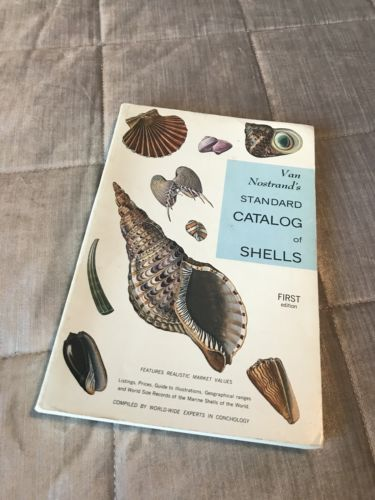 Van Nostrand's Standard Catalog of Shells-1964 First Edition Signed Copy