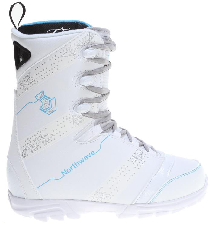 Northwave Dime White Snowboard Boot 6