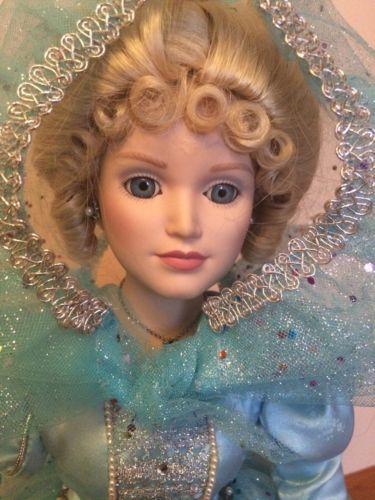Enchanting  Tall Cinderella Porcelain Doll