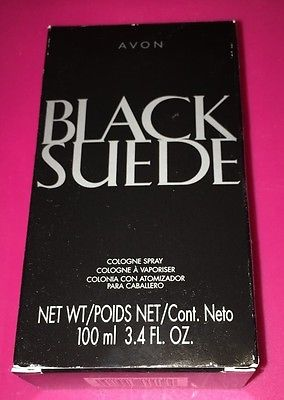 EXOTIC FRAGRANCE FOR HIM, THAT HE WILL LOVE! BLACK SUEDE COLOGNE SPRAY BY AVON