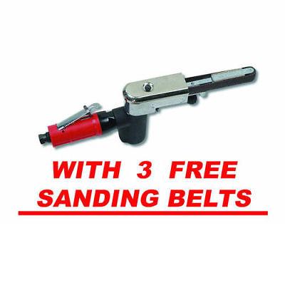 Dynabrade Auto File II Multi-Purpose Abrasive Belt Grinder Set 18100P New