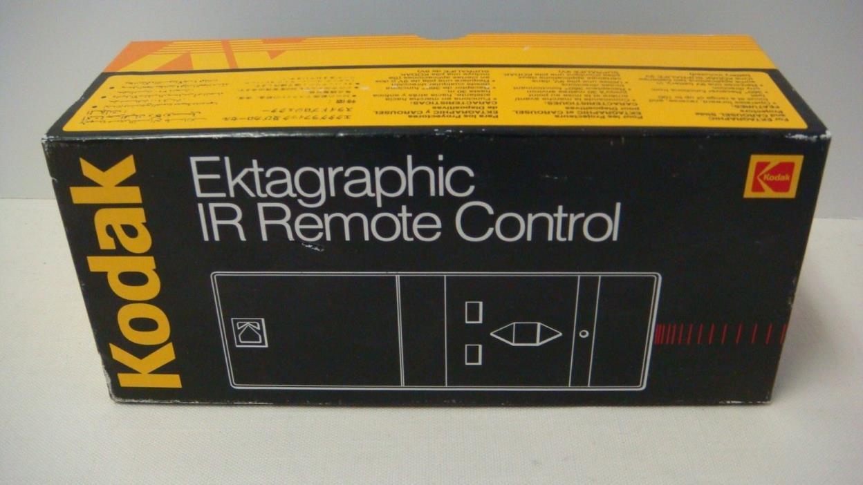 KODAK EKTAGRAPHIC IR REMOTE CONTROL SLIDE PROJECTOR # 109 8383 NEW IN BOX