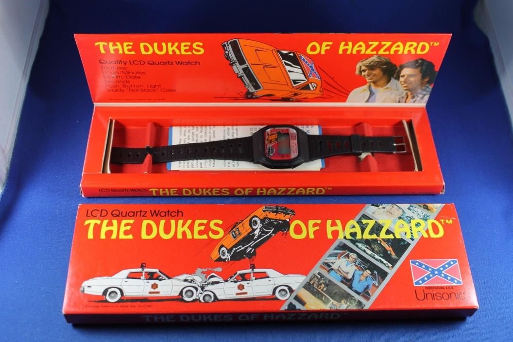 Dukes of Hazzard LCD Watch - New in Box - Never Used