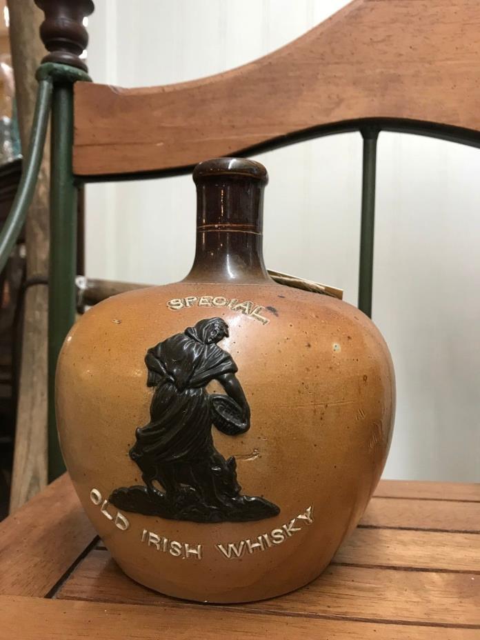 RARE Doulton Lambeth Whiskey Jug