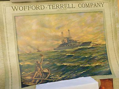 ORIGINAL - THE THOS. D MURPHY CO RED OAK IOWA 1920s F.R. Harper Calendar Top