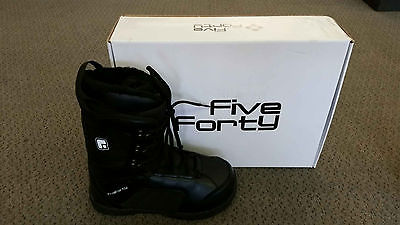 New Snowjam Five Forty Rebel Men's Snowboard Boots Size 13