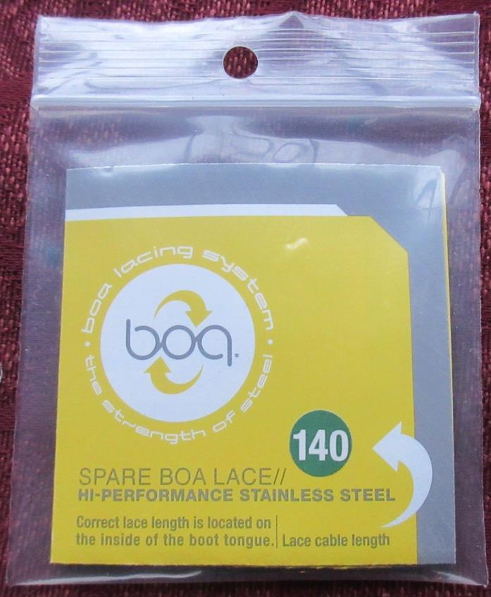 Spare BOA Lace; 140 cm; High Performance Stainless Steel