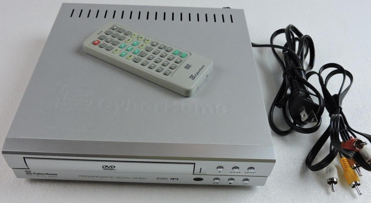 CyberHome CH-DVD 300 Progressive Scan Video MP3 Dolby Digital Player