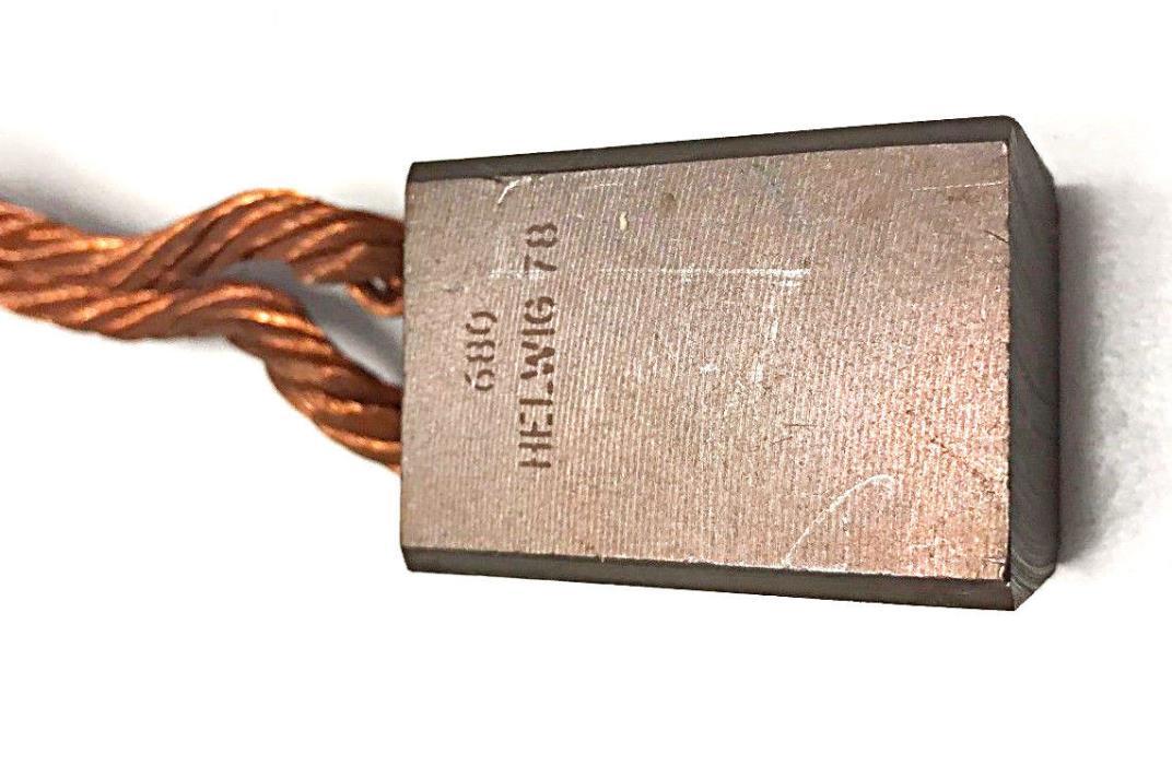 Helwig Generator Carbon Copper Brush 680 10-121220-120-6-02 New