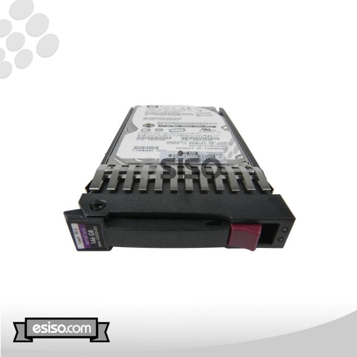 492619-001 HP 146GB 10K RPM 3G SFF 2.5'' SAS HOT PLUG SINGLE PORT DRIVE W/ TRAY