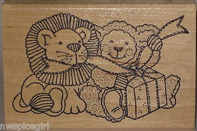 Azadi Earles Rubber Stamp - Lion and the Lamb - Gift Package