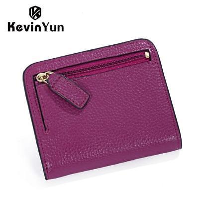 KEVIN YUN Split Leather Wallet