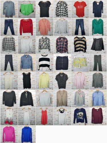 Women's Size Small and Medium 44 Piece Wholesale Clothing Lot