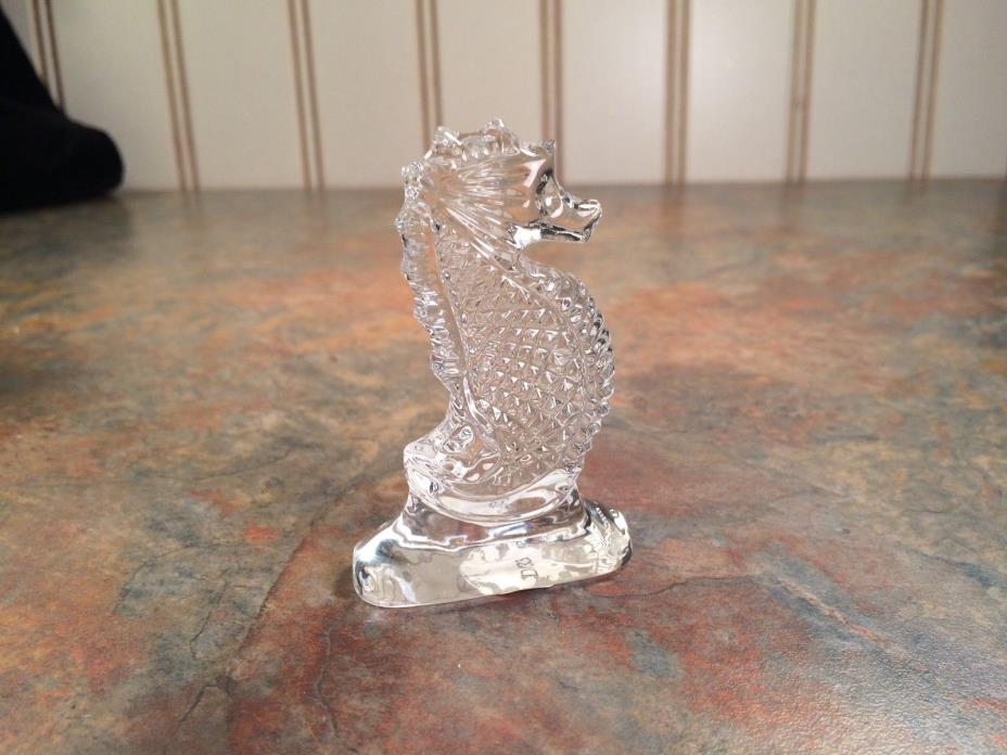 Waterford Crystal Seahorse Memento, Made in Ireland, MIB
