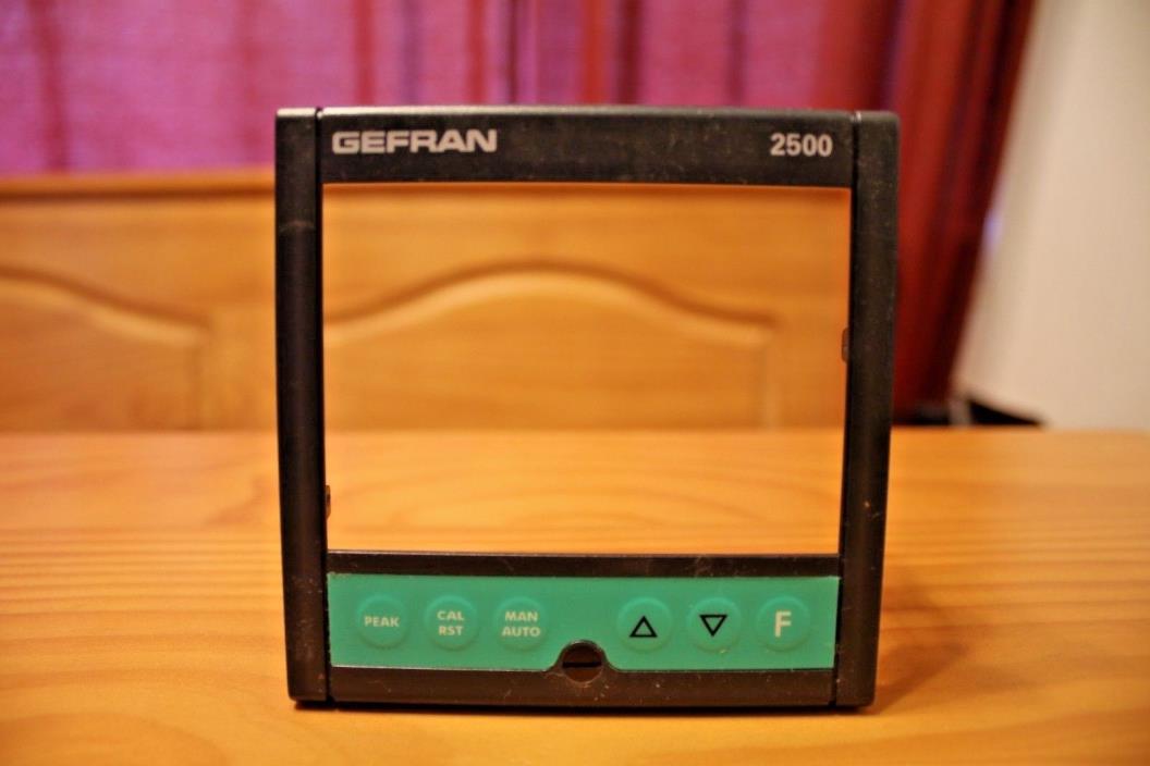 Bezel for Gefran 2500 Process Controller