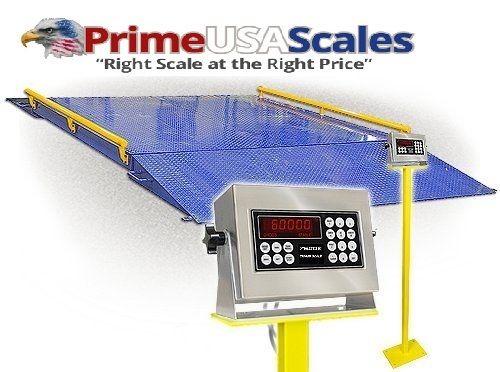 Triner Scale TS60-1010 Platform Scale 60,000 x 20 lb Capacity, 10' x 10' platfo