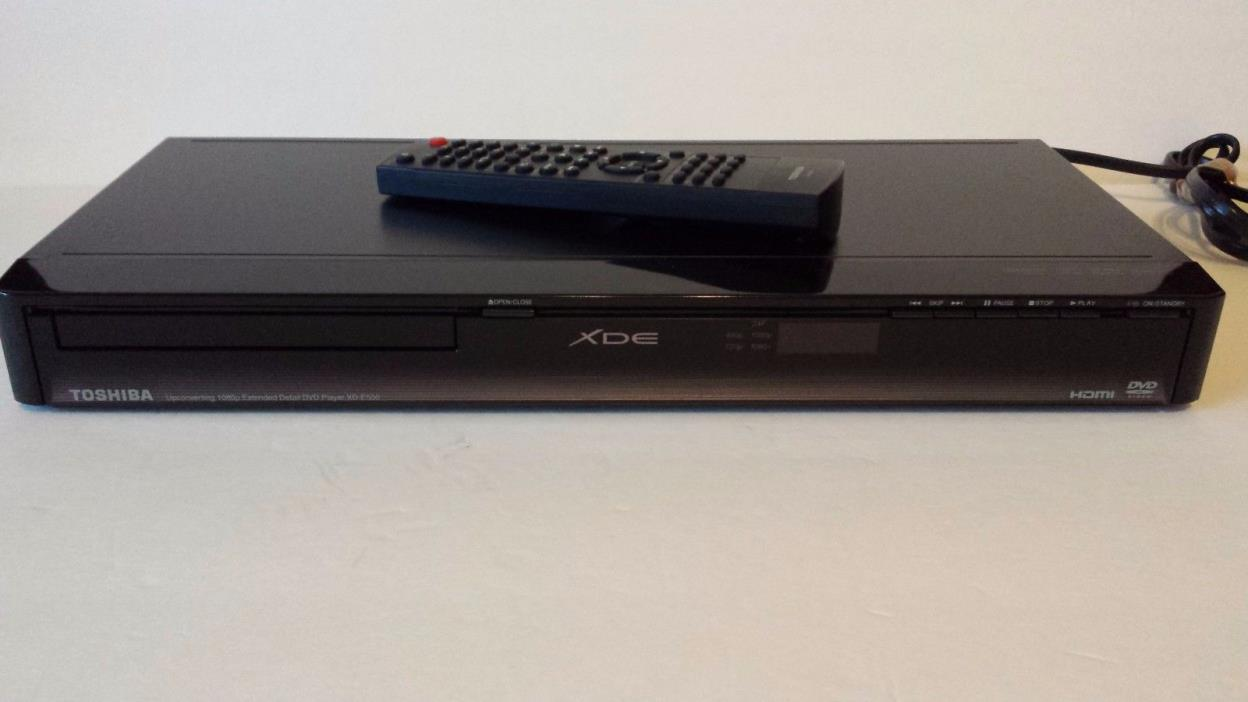 Toshiba XD-E500 DVD/CD player 1080p upconversion w/ Remote