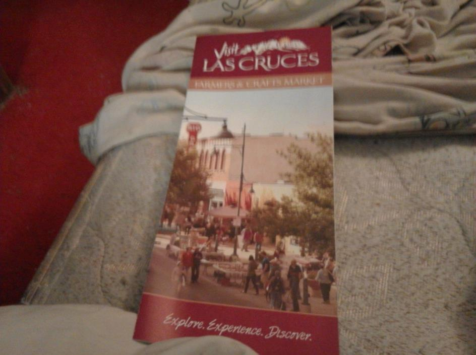 LAS CRUCES FARMERS AND CRAFTS MARKET BROCHURE AND MAP