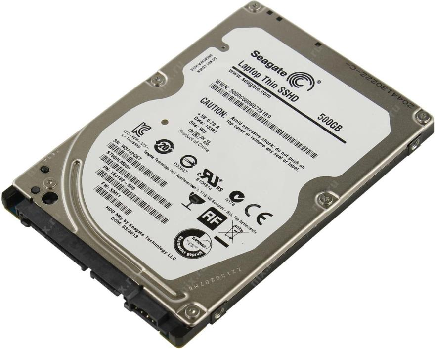 Seagate Laptop SSHD 500GB Internal 5400RPM 2.5