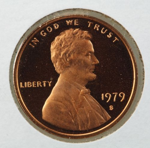 1979-S Gem Proof Type 2 Lincoln Memorial Cent DCAM