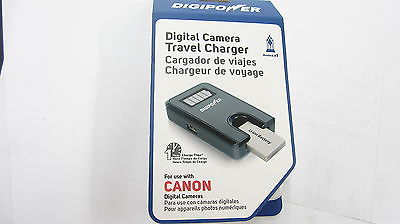 DIGIPOWER CANON DIGITAL CAMERA TRAVEL CHARGER 1 HOUR CHARGING TIME NEW IN BOX