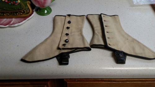 Ladies vintage spats