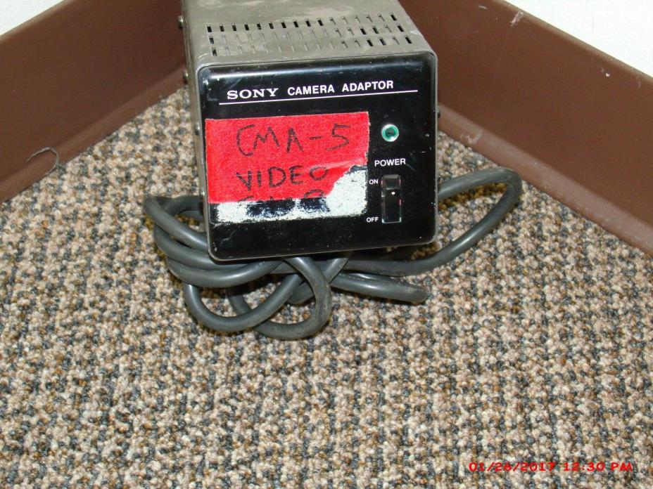 Sony Power Supply CMA-5 Camera Adapter Used