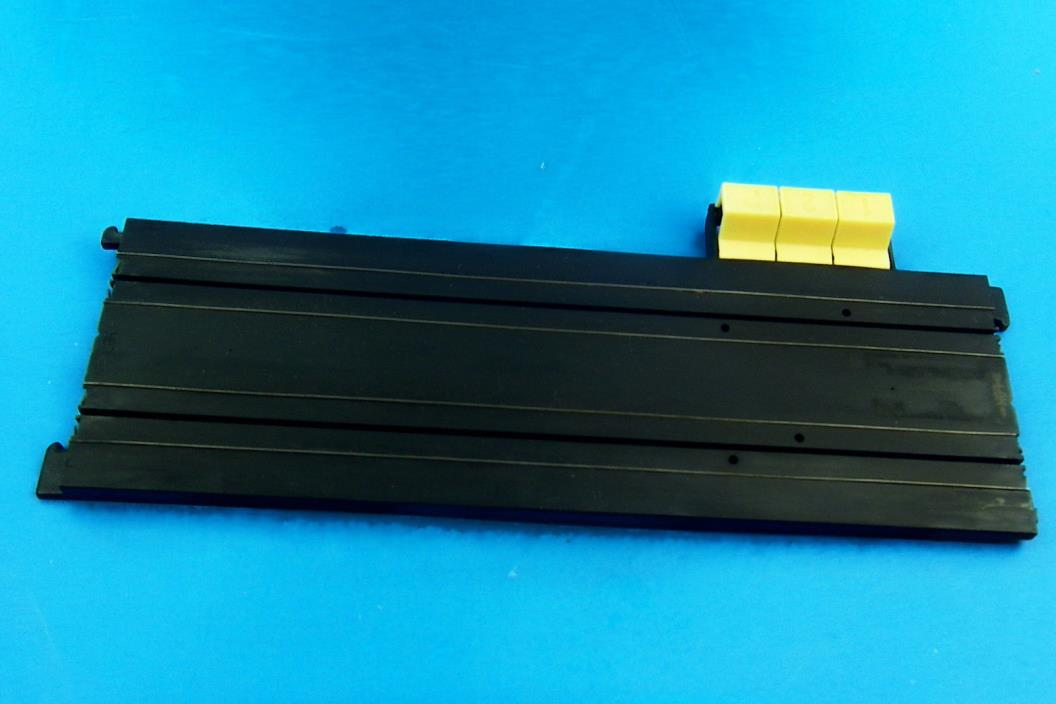 HO SLOT CAR TRACK Vintage Tyco Terminal Track #8710 READ:THIS IS OLD STYLE TYCO