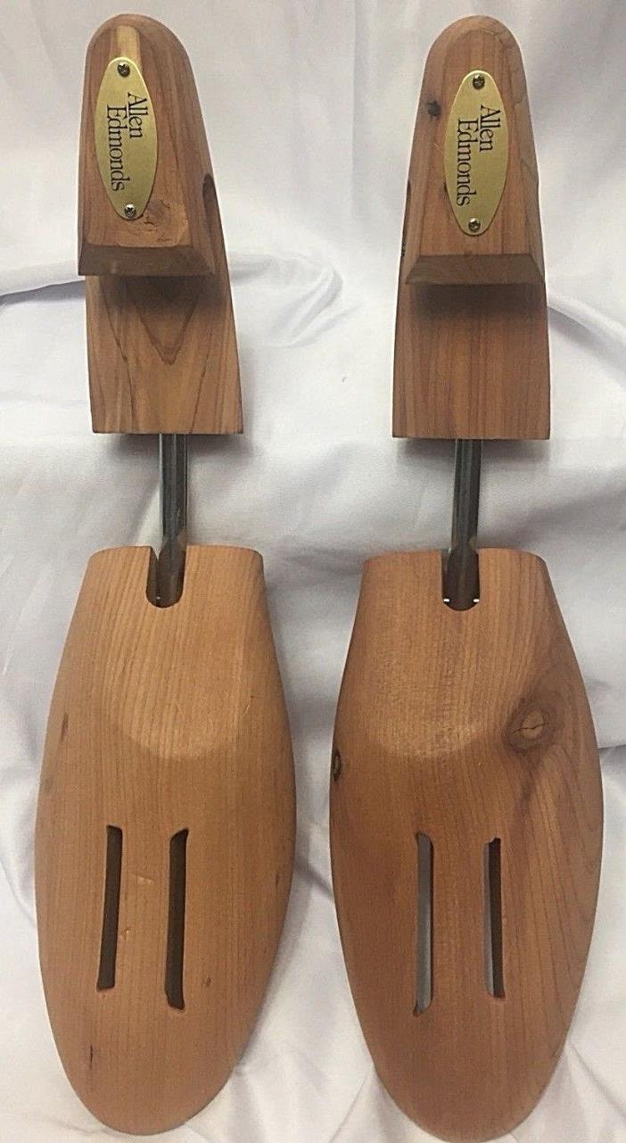 ALLEN EDMONDS Shoe Tree XXL CEDAR Wood & Brass Maintain shoe shape