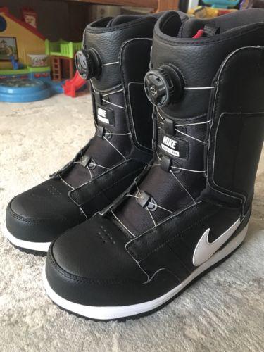 NIKE VAPEN X BOA Snowboard Boots - Black / White. Men's Size 10