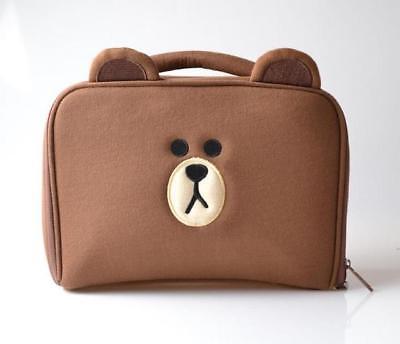 Brown Bear Toiletry Bag