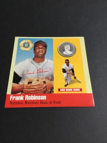 The Legends Of Baseball 500 Club 0.999 Silver Frank Robinson
