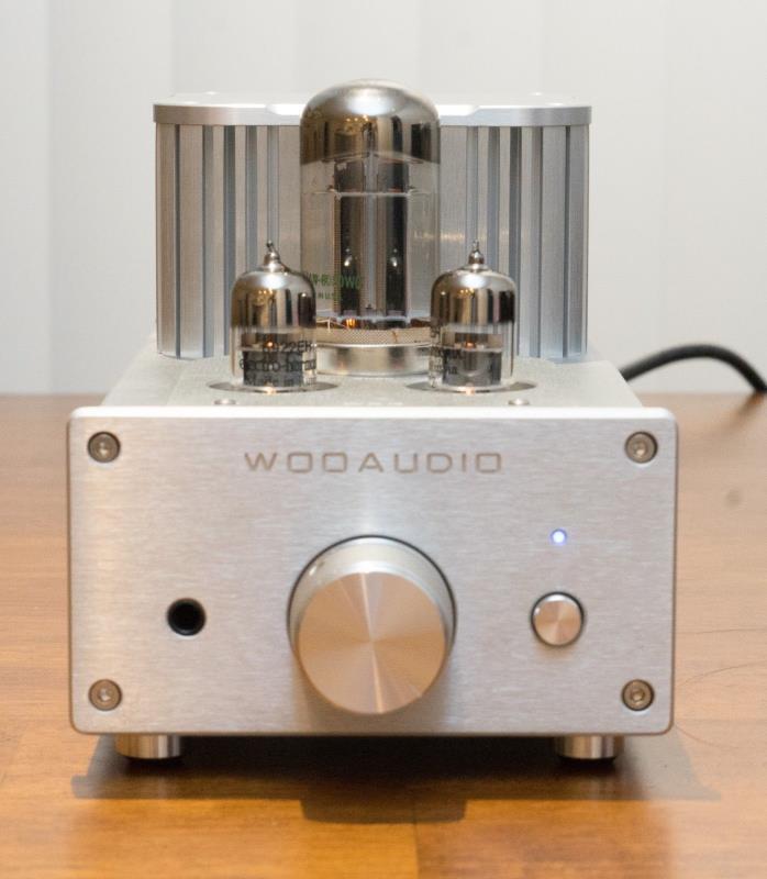 Woo Audio WA3 Silver - Tube Headphone Amplifier - Minty!!