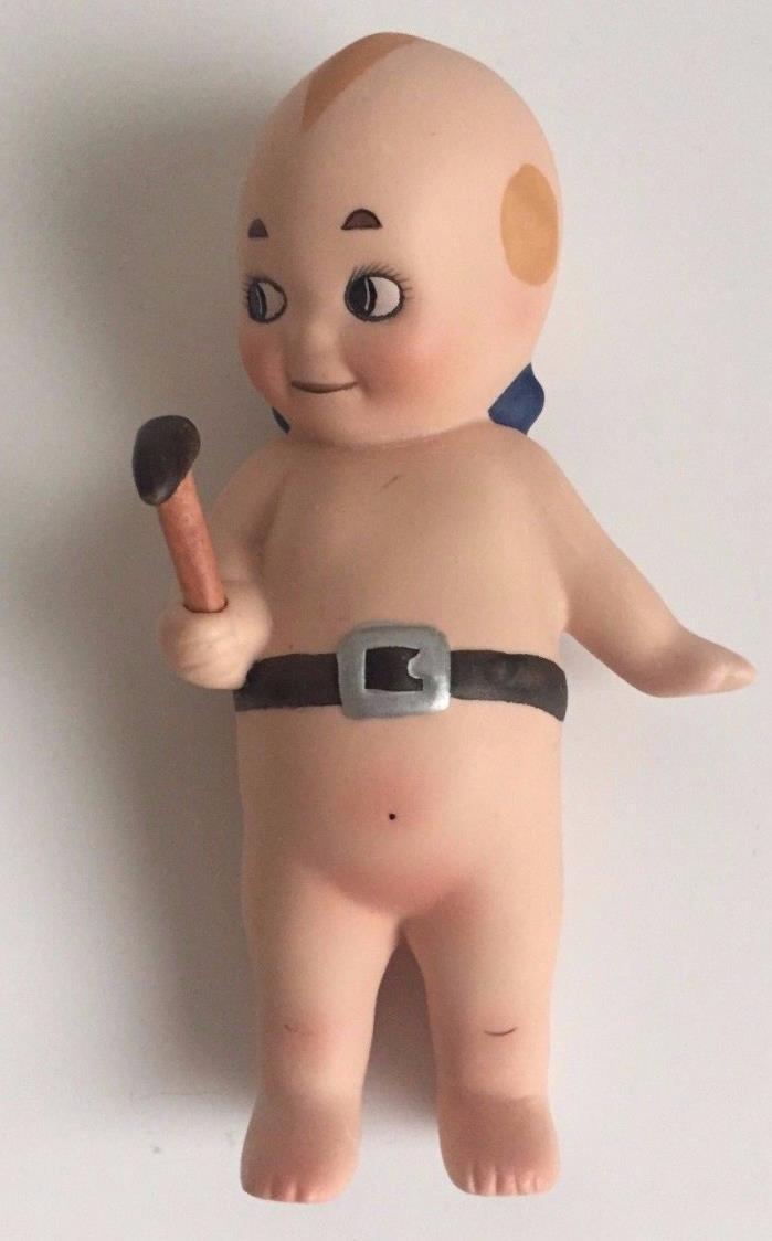 Vintage Kewpie Cupie LIKE Bisque Doll Figurine 5
