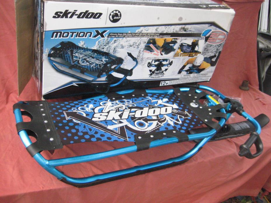 SKI-DOO MOTION X STEERABLE SNOW SLED - FREE SHIPPING