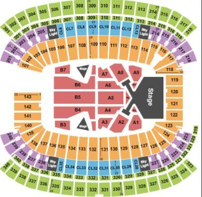 2-4 Taylor Swift Club Level Tickets 7/28/18 Gillette Stadium Ready to Ship