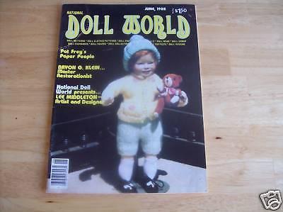 National Doll World June 1982