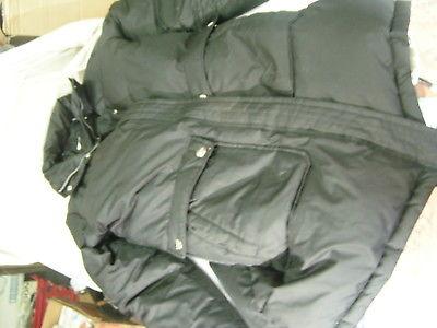 DKNY SZ. L 40% feather down jacket W/ hood  app 32