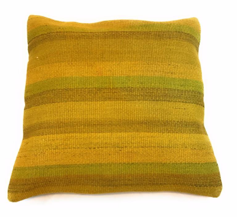 Kilim Pillow Vintage Handmade Turkish  18