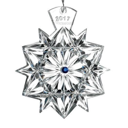 WATERFORD Crystal 2017 Snowflake Wishes