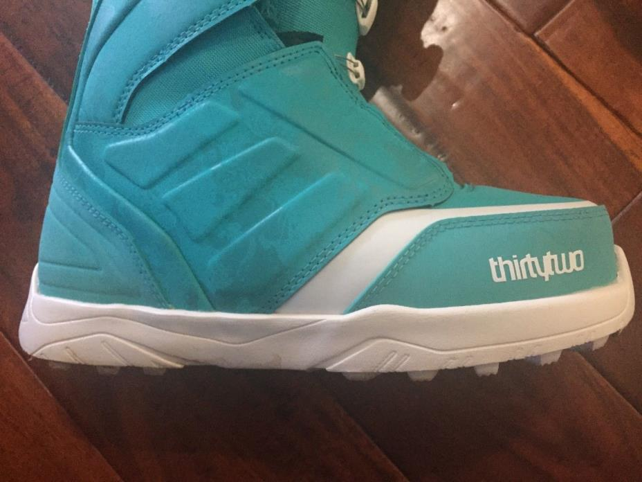 ThirtyTwo Fall 2017 Lashed Double Boa (Turquoise) Women's Snowboard Boots