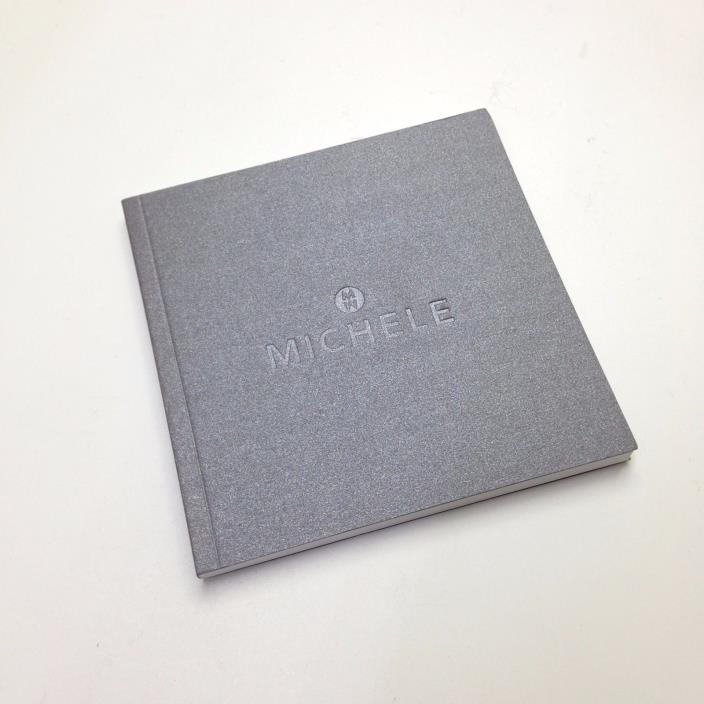 NEW MICHELE WATCH BOOKLET OPERATING INSTRUCTIONS NO WARRANTY CARD