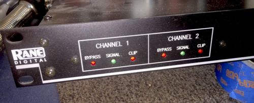 Rane Digital RPE 228d Programmable EQ Equalizer New Old Stock Stereo