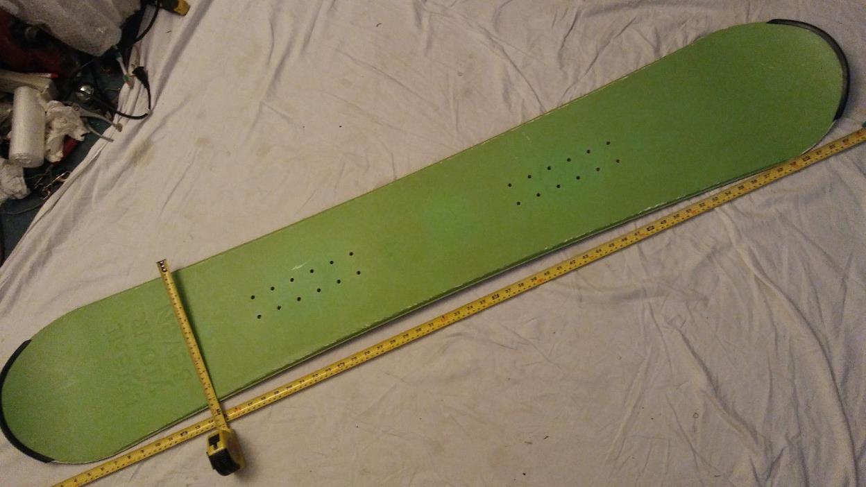 TwentyFourSeven Snowboard, 165Cm, Green